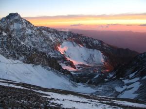 La precordillera de los Andes