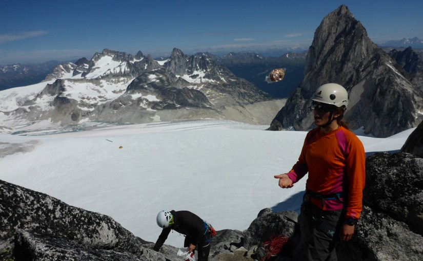 Climbing in the Bugaboos